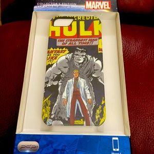 NWT Marvel The Hulk iPhone 5 case.